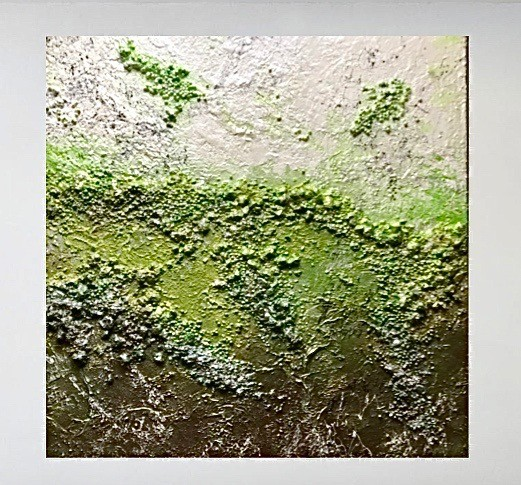 """So Fresh"" Mixed-Media auf Leinwand"